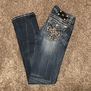 Miss Me Straight Long Jeans